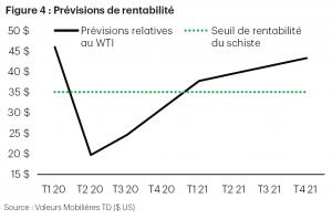 Figure 4 : Prévisions de rentabilité